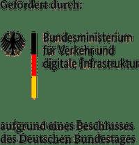 Gefördert durch Bundesministerium für Verkehr und digitatle Infrastruktur